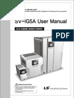 LS Inverter iG5A Manual