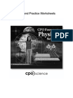 Physical Science Skill and Practice Sheets