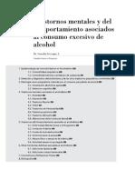 11 Trastornos Mentales y Del Comportamiento Asociados Al Consumo Excesivo de Alcohol
