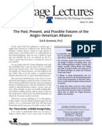 The Past, Present, and Possible Futures of the Anglo–American Alliance (hl_1116)