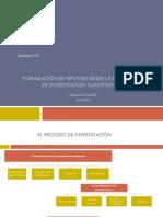Sesión I_Formulación de hipótesis desde la estrategia de investigación cuantitativa