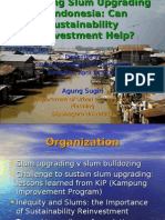 Presentation - Financing Slum Upgrading