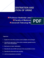 5. Concentration and Dilution of Urine