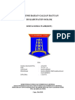 Potensi Bahan Galian Mineral Batuan di Kabupaten Solok