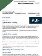 C-18 Engine - Sistemas y Componentes