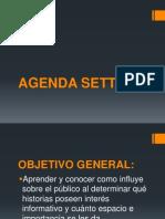 AGENDA SETTING_objetivo General