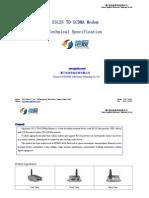 S3125 TD-SCDMA Modem Technical Specification
