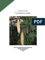 PDF Budidaya Tanaman Buah Pare