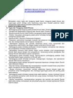 General Job Description Uraian Tugas Dan Tanggung Jawab Rumah Sakit Amanah Mahmudah