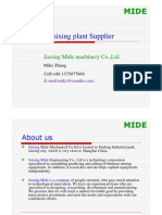 PMB plant