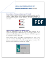 Pasos Para La Guia de Instalacion de PDF