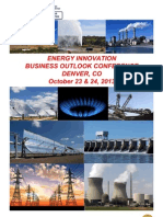 2013 Energy Innovation Business Outlook Conference, Denver, CO Oct 23 & 24, 2013