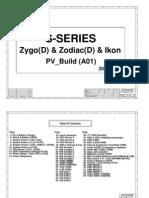 Hp Compaq 6530s 6531s 6730s 6820s 6830s Inventec Zygo Zodiac Ikon Rev a01 Sch