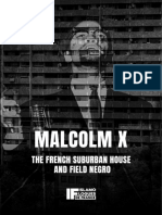 The French Suburban House and Field Negro