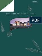 Speci Fiers Builders Guide June 2010