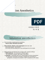 7 Inhalation Anesthetics