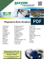 Megazyme Auto Analyser Flyer