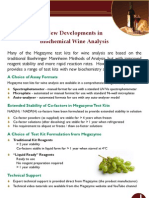 New Developments in Biochemical Wine Analysis