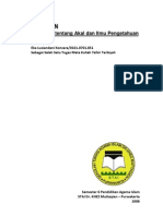 RESUME BUKU - Al-Qur'an Tentang Aqal & Ilmu Pengetahuan