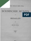 Beschreibung böhmischer Münzen und Medaillen. Bd. I / von Eduard Fiala