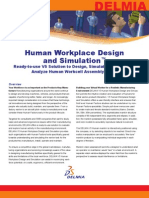 Delmia Human Workplace Design Simulation