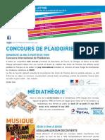 La Lettre de l'IFM Du 19 Au 24 Mai 2013