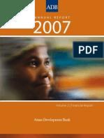 ADB Annual Report 2007 - Financial Report