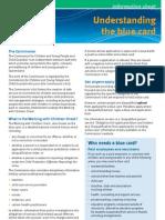 General Information on Blue Cards