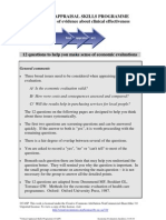 CASP Economic Evaluation Checklist 14oct10