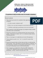 CASP Economic Evaluation Checklist 14oct10