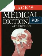 Blacks Medical Dictionary Cu Semne