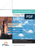 Cleaner Production & Energy Efficiency Manual