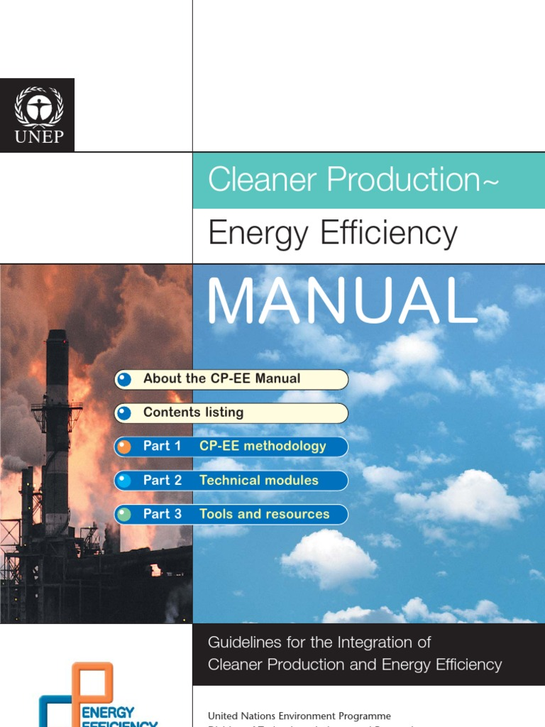 Cleaner Production & Energy Efficiency Manual | Efficient Energy Use ...