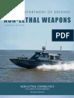 Raportul SUA 2013 asupra armelor non-letale