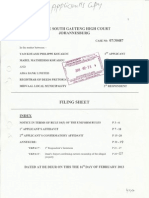 Interlocutory Application for Joinder
