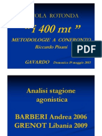 Riccardo Pisani - tavola rotonda Gavardo 19 maggio 2013