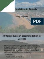 accommodation in zarautz ane y alejandro