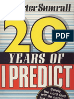 20 Years of I Predict - Sumrall