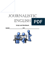 Journalistic English Work Book