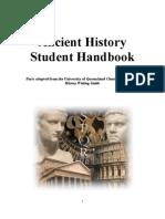 Ancient History Student Handbook