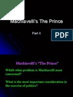 Machiavelli's The Prince Part II full