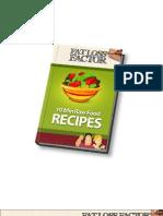 Raw Foods Diet Book