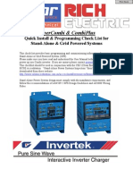 Check List - Off Grid Power Systems