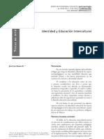 Identidad y Educación Intercultural