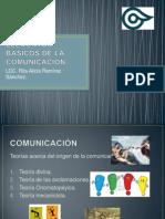 ELEMENTOS BÁSICOS DE LA COMUNICACIÓN