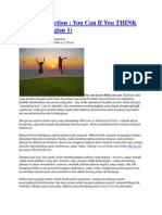 Mindset and Personal Development