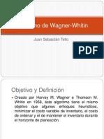Algoritmo de Wagner Whitin