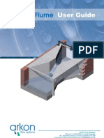 Parshall Flumes User Guide,EnG