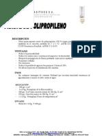 Fibra z de Polipropileno