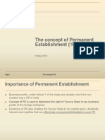 The Concept of Permanent Establishment